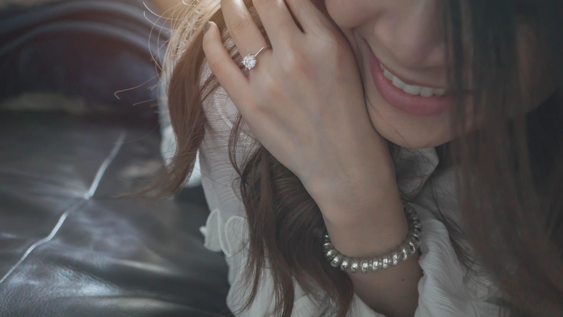 diamond ring shape